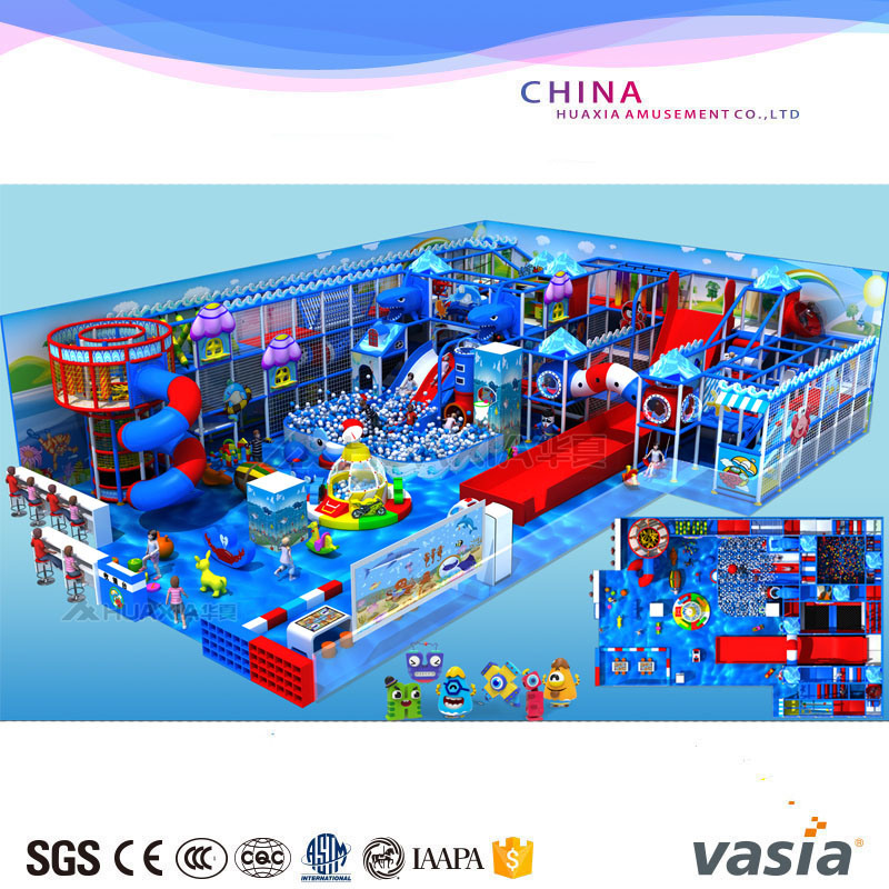 Children Indoor Sea World Themes Playground for Play Center