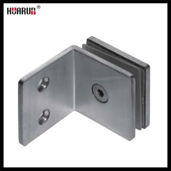 90 Degree Stainless Steel Wall Mounted Glass Shower Hinge (HR1500L-11)