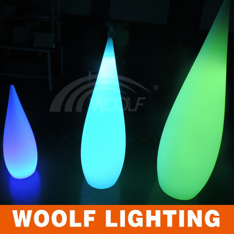 Modern Lights LED Indoor Outdoor Floor Lamp Water-Drop Lamp