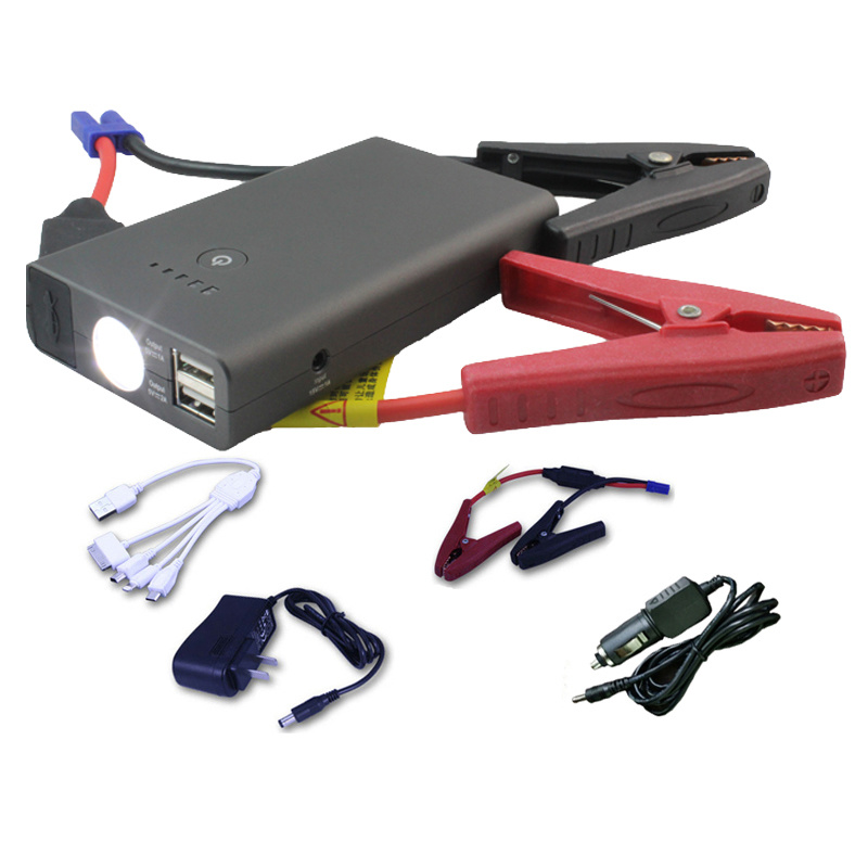 Rechargeable Auto Car Jump Starter with LED Light