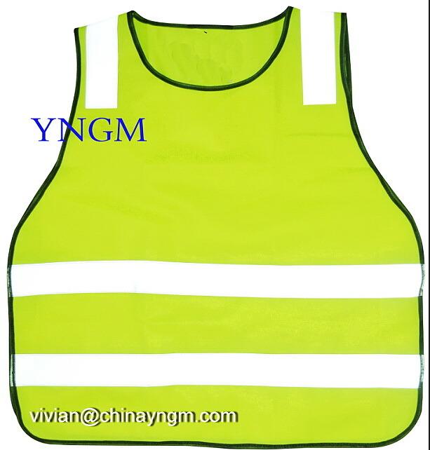2015 New Design Reflective Safety Vest for Children