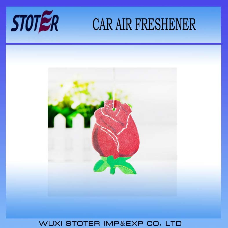 Eco-Friendly Customized Shape Car Air Fresheners with Own Logo