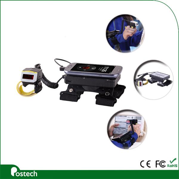 Qr Code Scanner 2D 1d Bluetooth Bar Code Scanner Fs02+Wt01