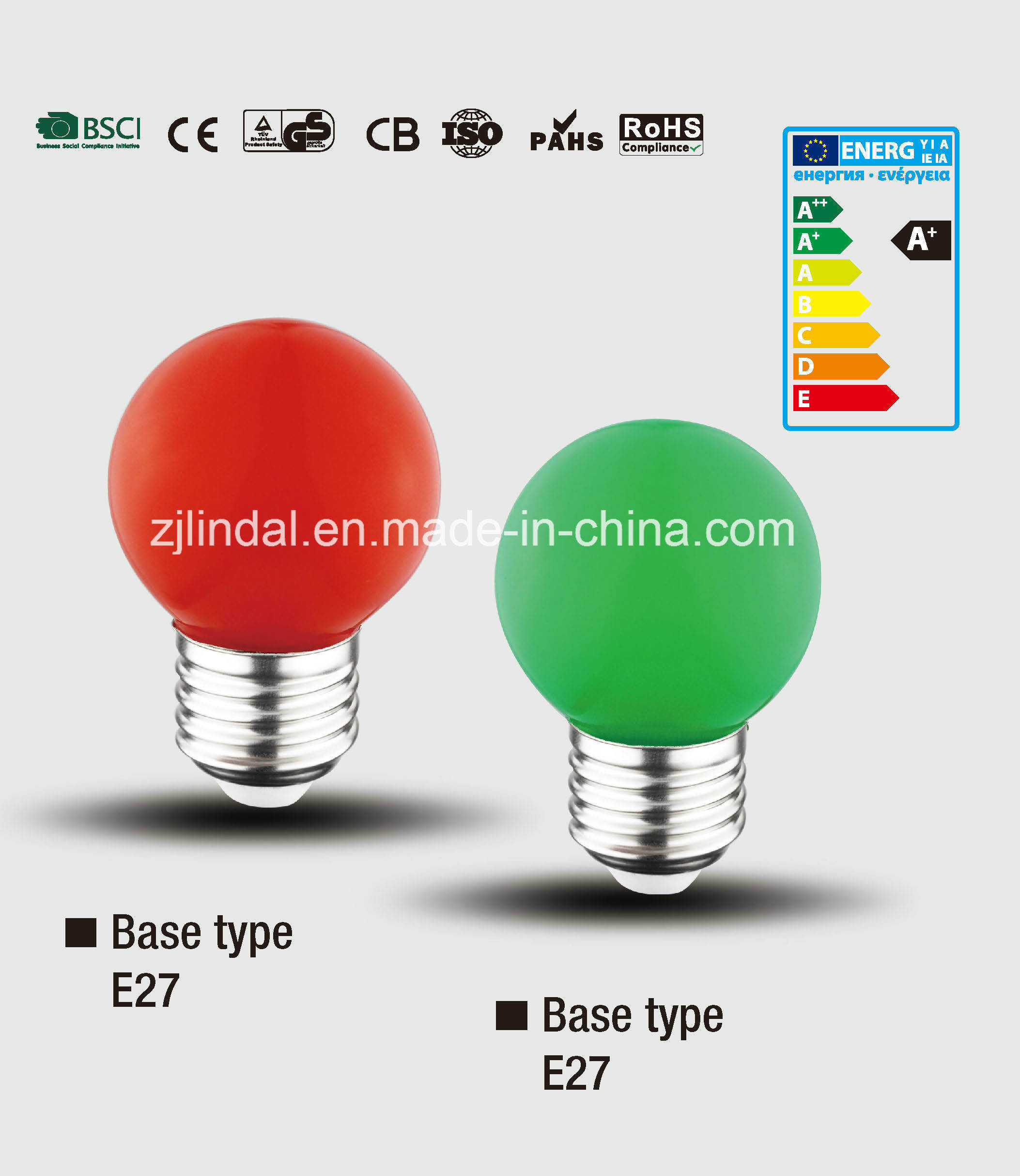 LED Color Bulb PS45-Color