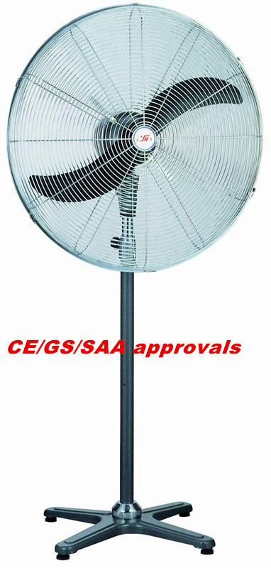 65cm Industrial Stand Electric Fan with CE/SAA