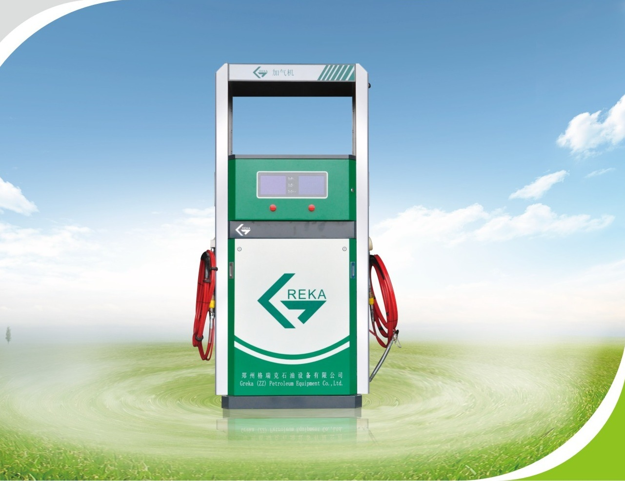 Professional Medium Pressure CNG Dispenser for Gas Station