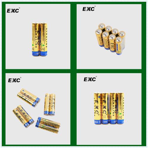 1.5V Alkaline AAA Lr03 Am4 Battery Foil Jacket