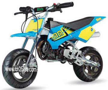 dirt bike with 50cc  2 stroke