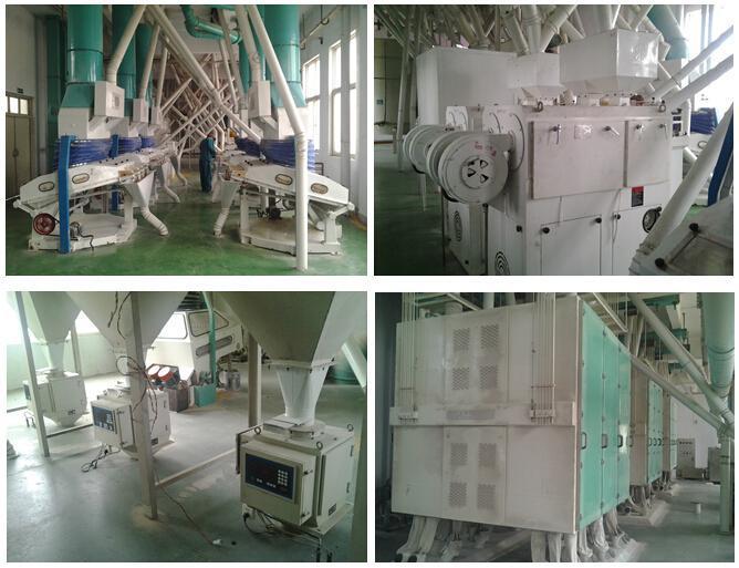 Maize/Corn/Wheat Flour Grinding Production Line, Grain Flour Milling Machine