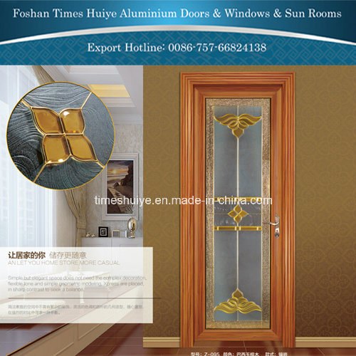 Traditional Interior Decoration Aluminum Casement Door