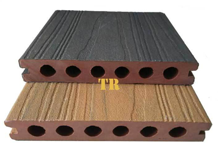 Durable Shielded WPC Decking, WPC Co-Extruded Decking