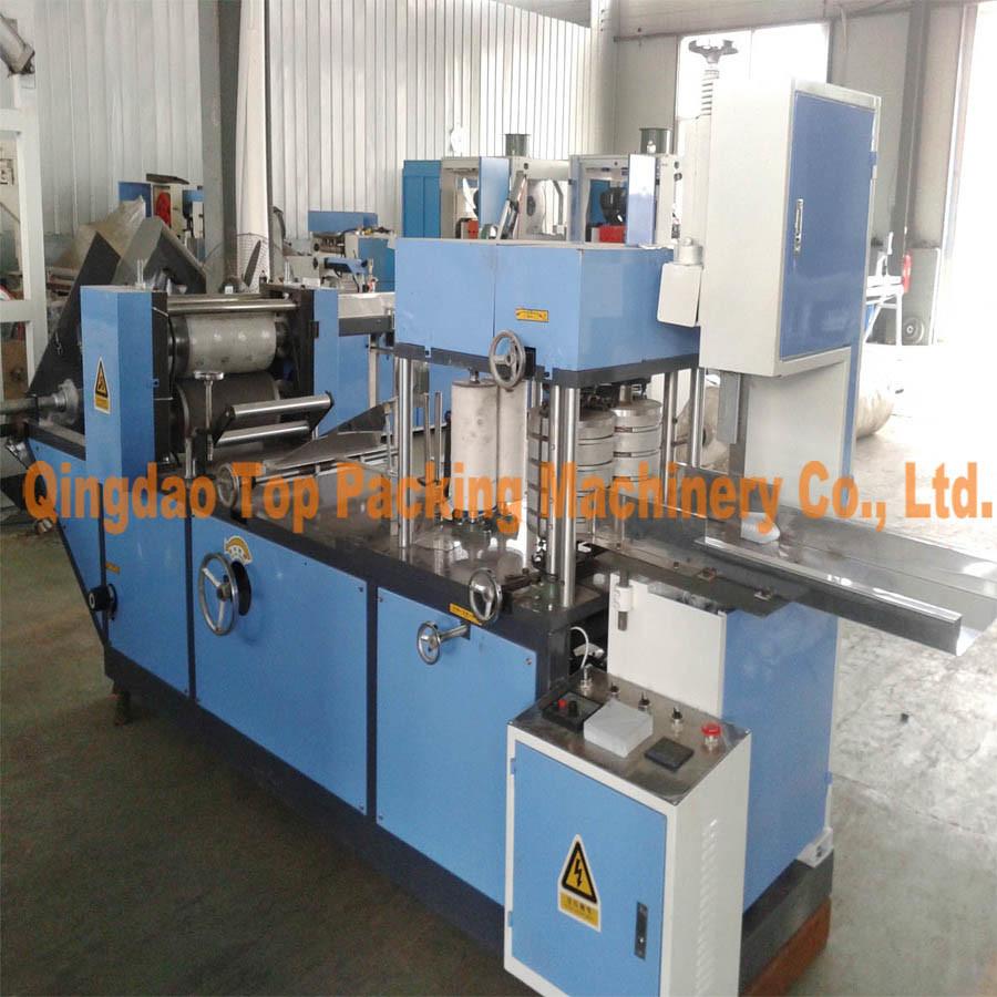 2 Color Printing Paper Napkin Making Machine