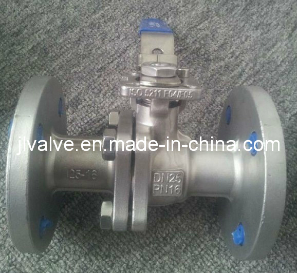 2PC Stainless Steel Flanged Ball Valve (Q41F-16P)