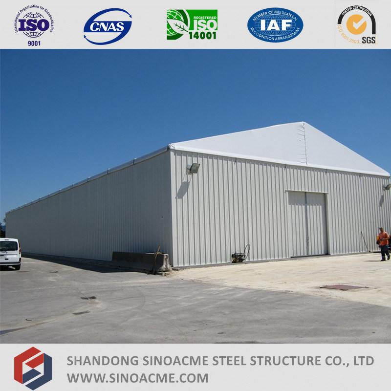 Sinoacme Prefabricated Steel Structure Frame Warehouse