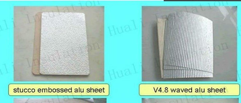 China Stucco Embossed Insulated Aluminum Panel Coated With