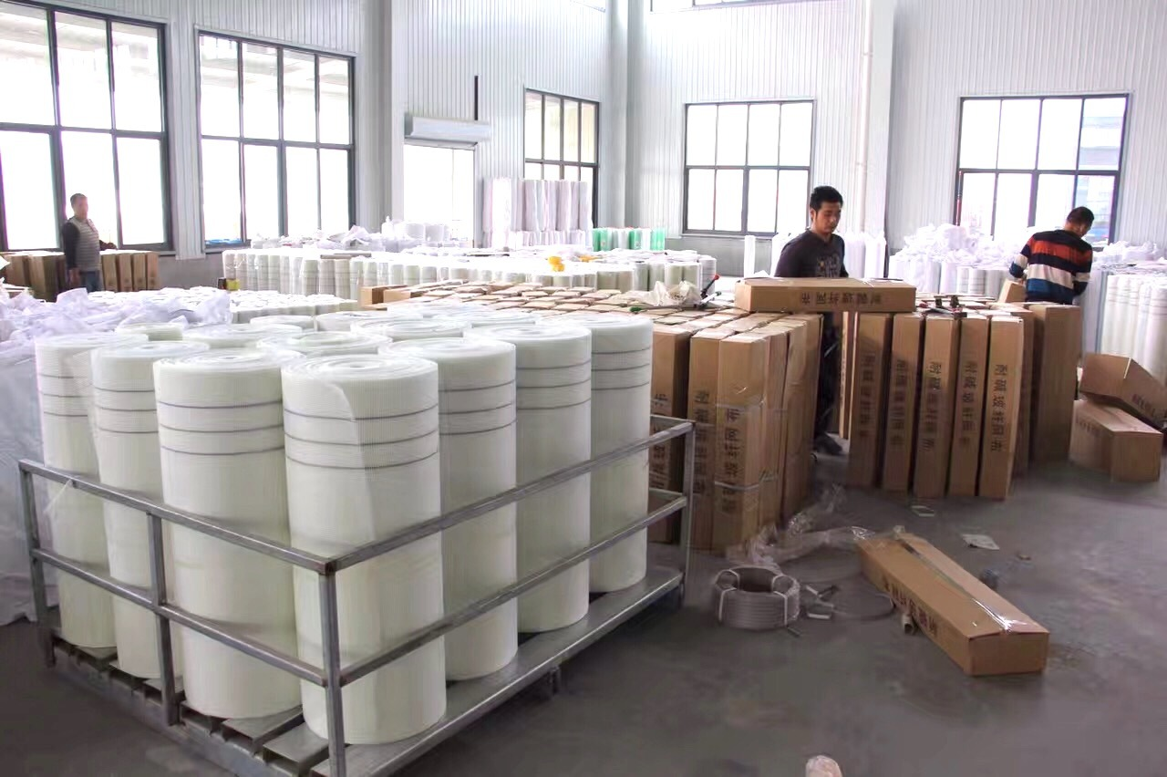 145g White Alkali-Resistant Fiberglass Mesh for Wall Material