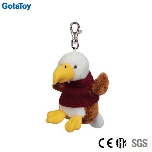Custom Plush Toy Keychain Small Animal Keyring Soft Toy