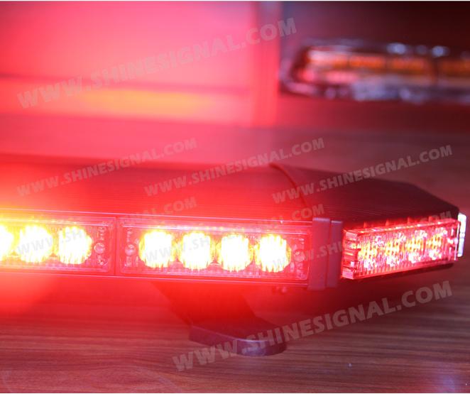 Black Aluminium Emergency Patrol Police Engineering Vehicle Lights (L6200)
