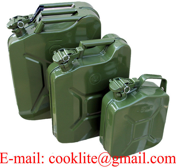 American / European Military Fuel Can / Metal Jerry Can
