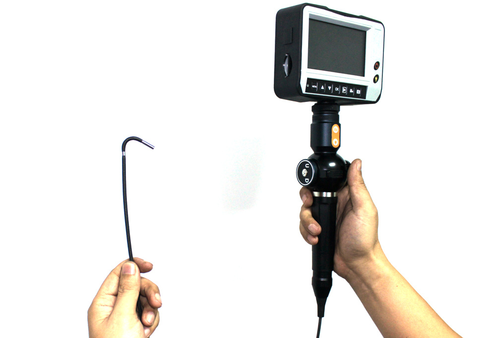 Portable Video Borescope with 3.9mm Camera Lens