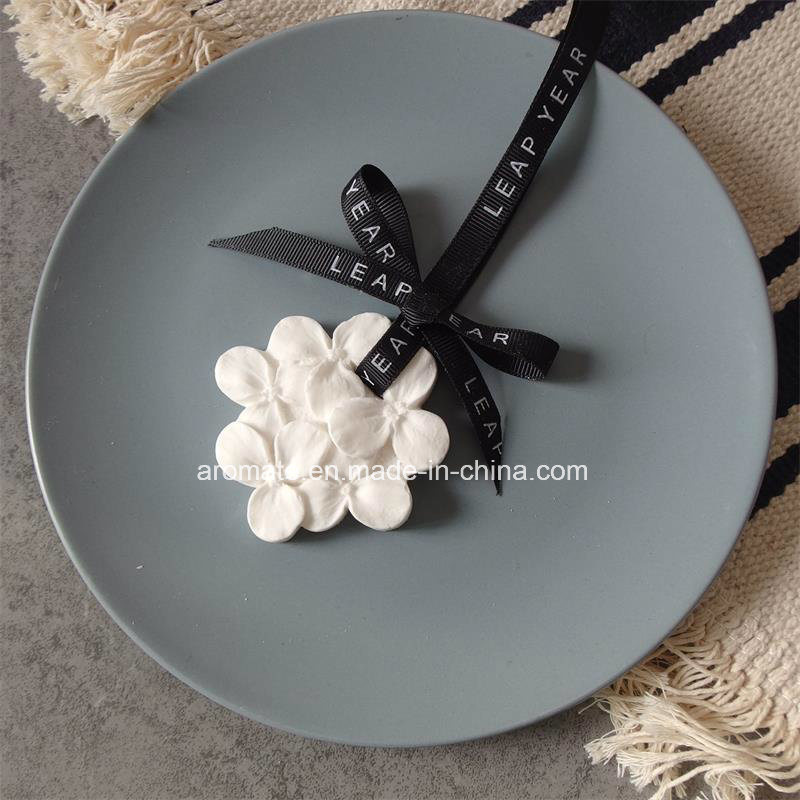 Hanging Ceramic Flower Car Air Freshener (AM-32)