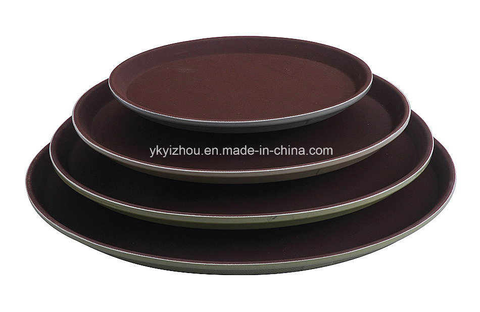 Fiberglass Food Serving Tray for Hotel or Restaurant