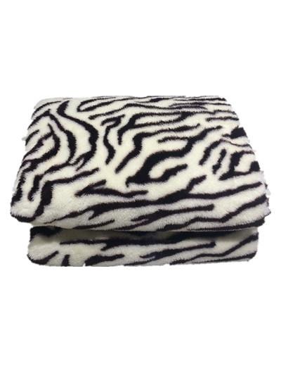 Hot Sale Sr-B170227-2 Super Soft Printed PV Fleece Blanket