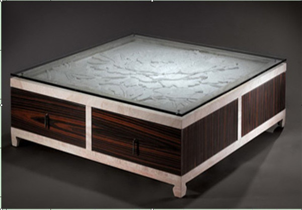China Modern Natural Travertine Marble Coffee Table D8833 Photos Pictures Made In