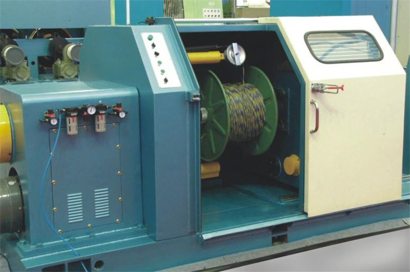 Cantilever Type Wire Cable Single Stranding Machine