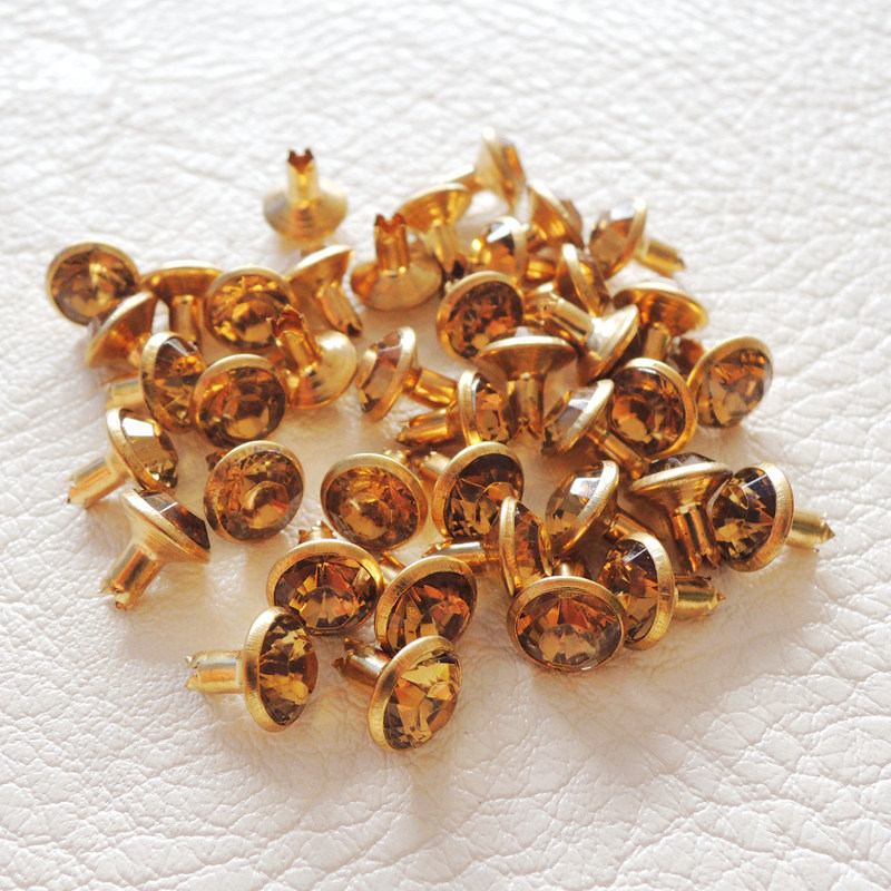 Rhinestone Metal Rivets for Decorative