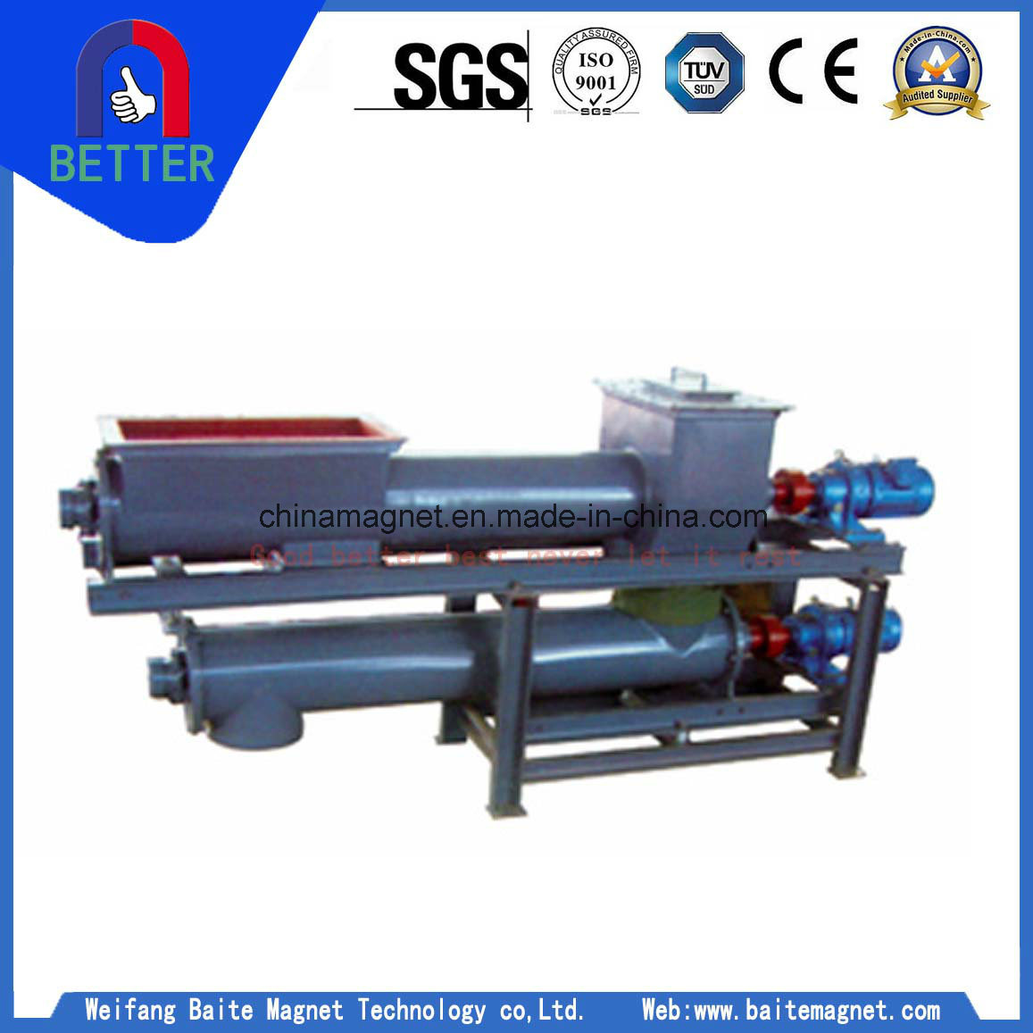 Tgg Powder Steady Flow Quantitative Screw Scale for Powder Handling