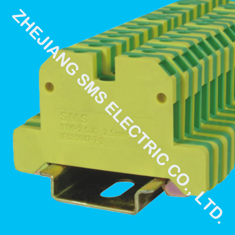 Screw Cage Universal Terminal Blocks (STK-2.5 / STK-10)