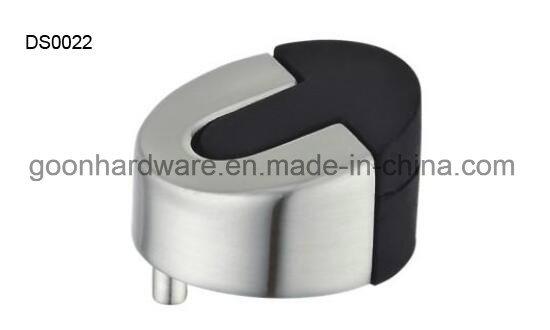 Zinc Door Stopper with Rubber Ds0021