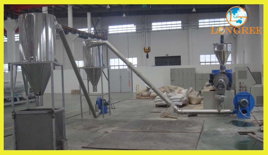 Pet/PP/PE/PVC Recycling and Pelleting Line, Waste Plastic Recycling Machine