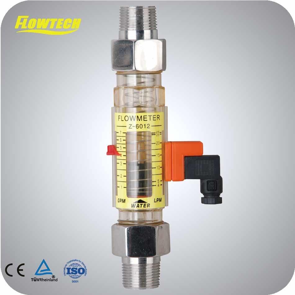 Polysulphone Flowmeter Horizontal Pipeline Flowmeter