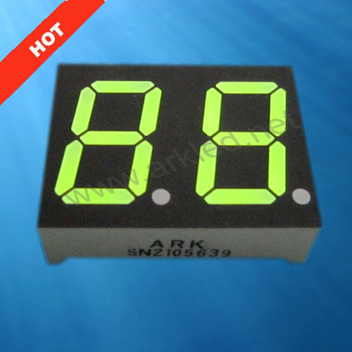 Dual Digit LED 7 Segment Display for Numeric Display