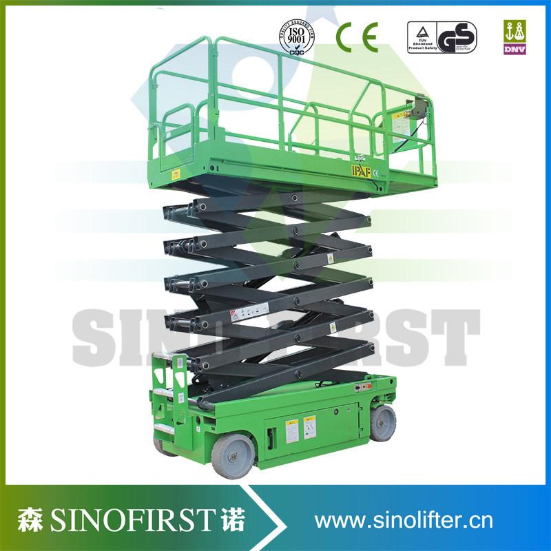 6m-12m Hydraulic Hydraulic Electric Scissor Lift with Ce