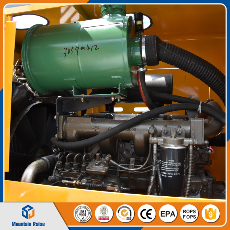 Chinese Manufacture 2200kg Hydraulic Automatic Driving Wheel Loader