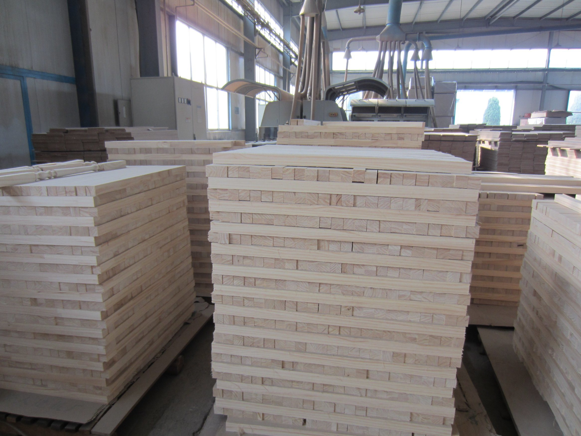 915X2300 Size Pine Edge Glued Panel for Korea Market