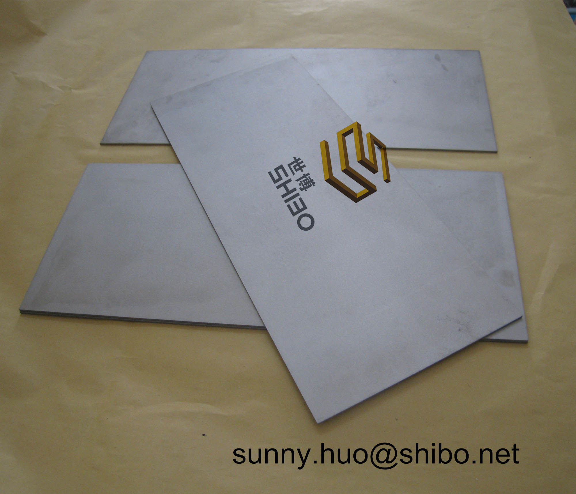 Pure Tungsten Sheet, Tungsten Plate for Furnace Construction