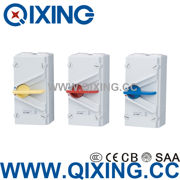 IP66 Waterproof Isolating Switch with CE Certification (QXF-120)
