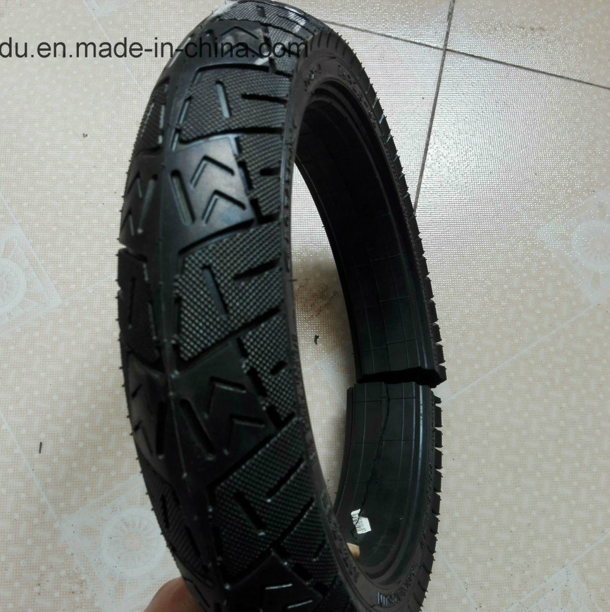 High Performance Semi Pneumatic Rubber Tyre
