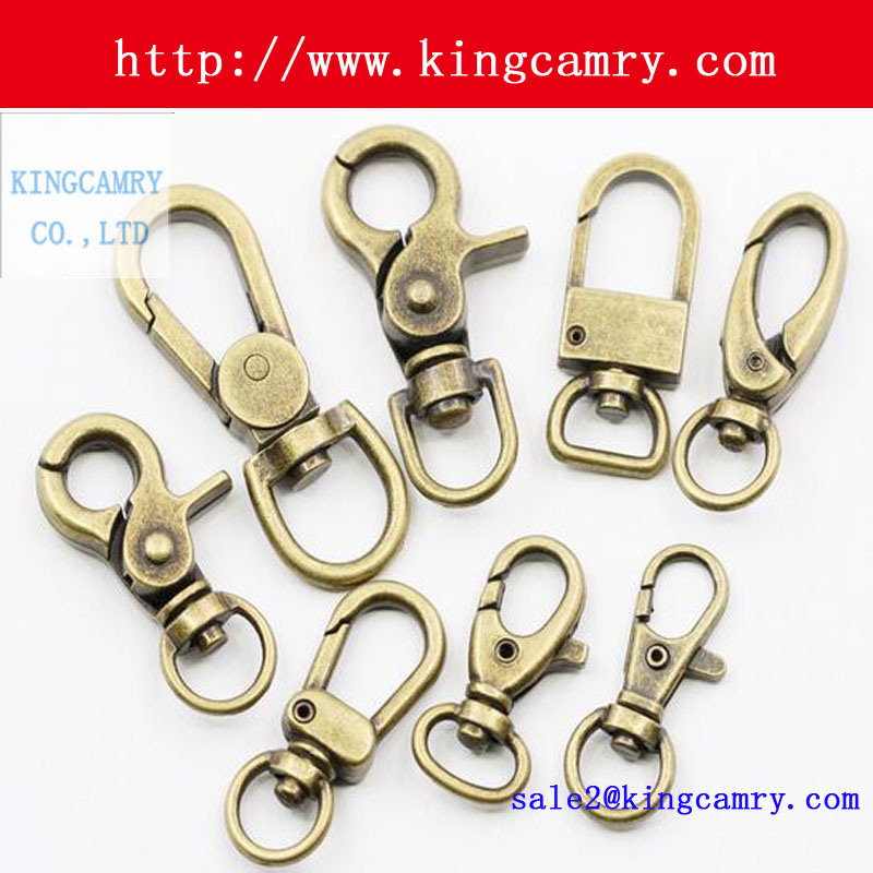 Swivel Hook Clasp Hooks for Bag Dog Handbag Snap Hooks Spring Hook Key Hook Spring Hook
