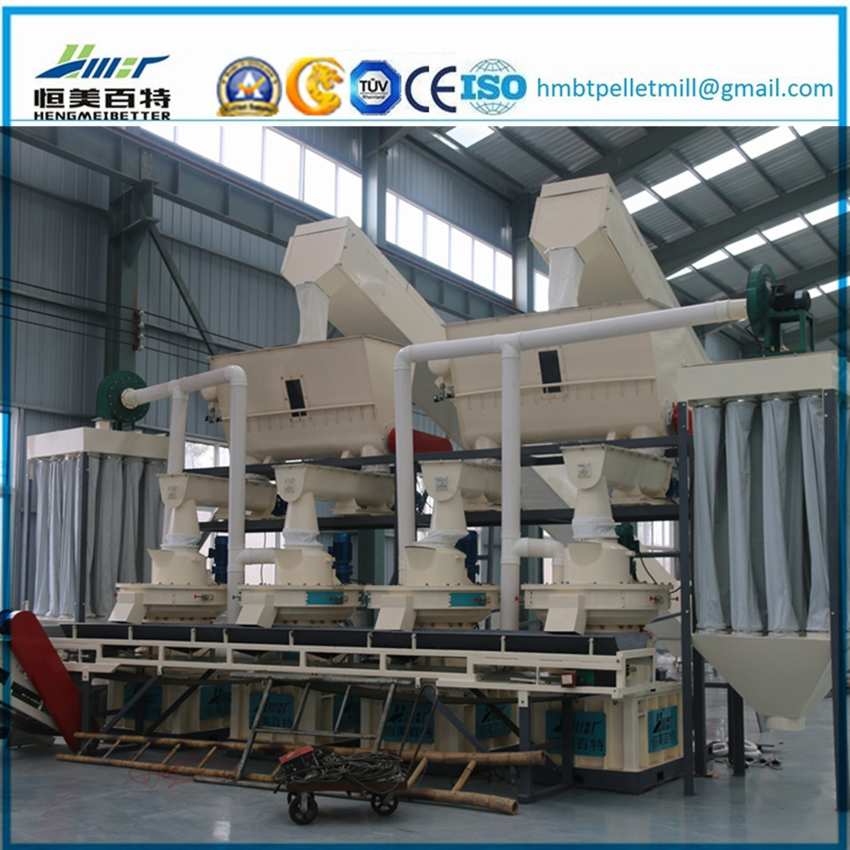 Biomass Fuel Tree Leaves Cotton Seed Hull Pellet Press Machine