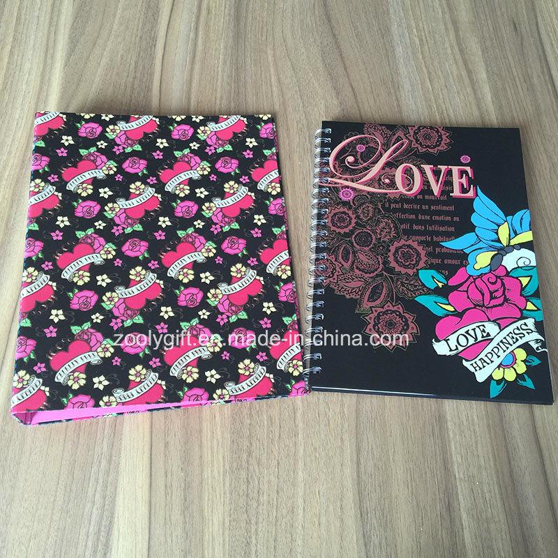 Wholesale Custom Brand Ring Binder Spiral Notebook Stationery Gift Sets