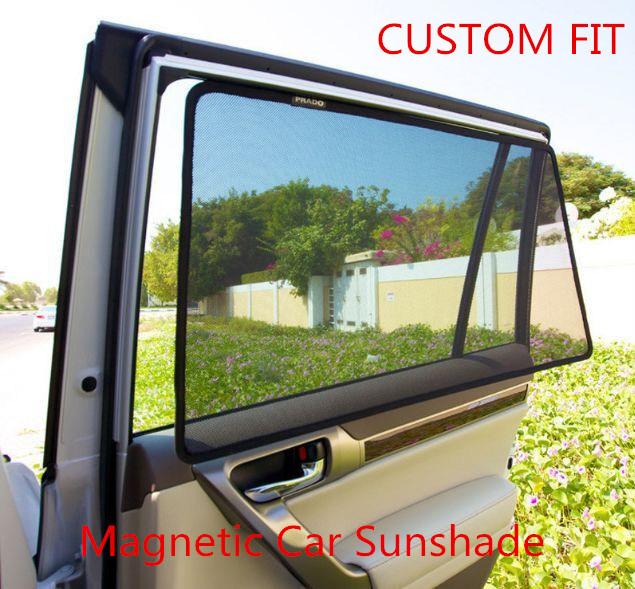 Magnets Installed Car Sunblinds for Honda