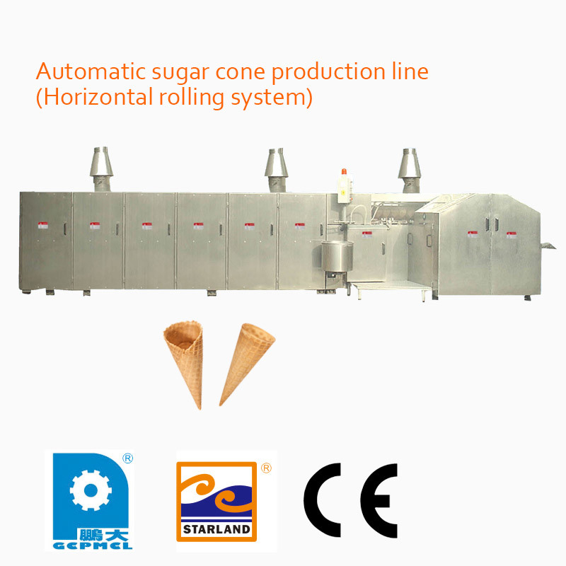 Automatic Sugar Cone Production Line (Horizontal rolling system)