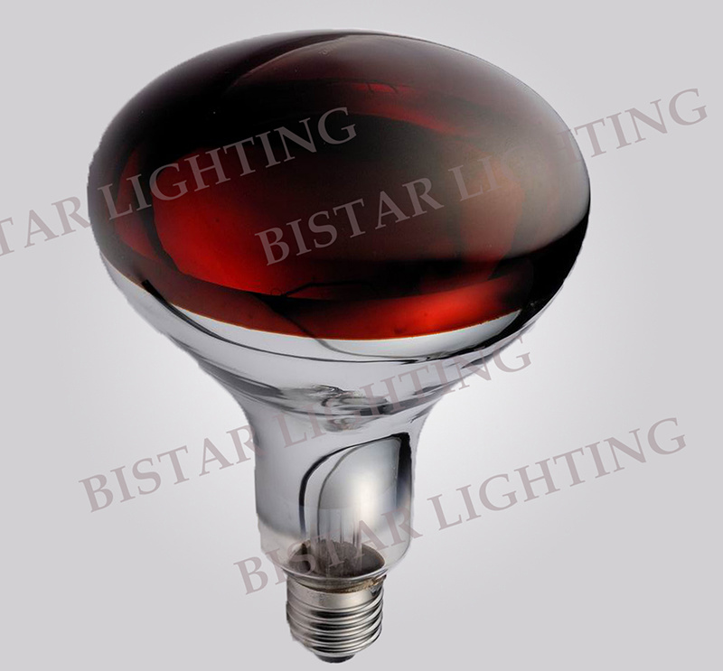 Infrared Heating Lamp Red R125 175W