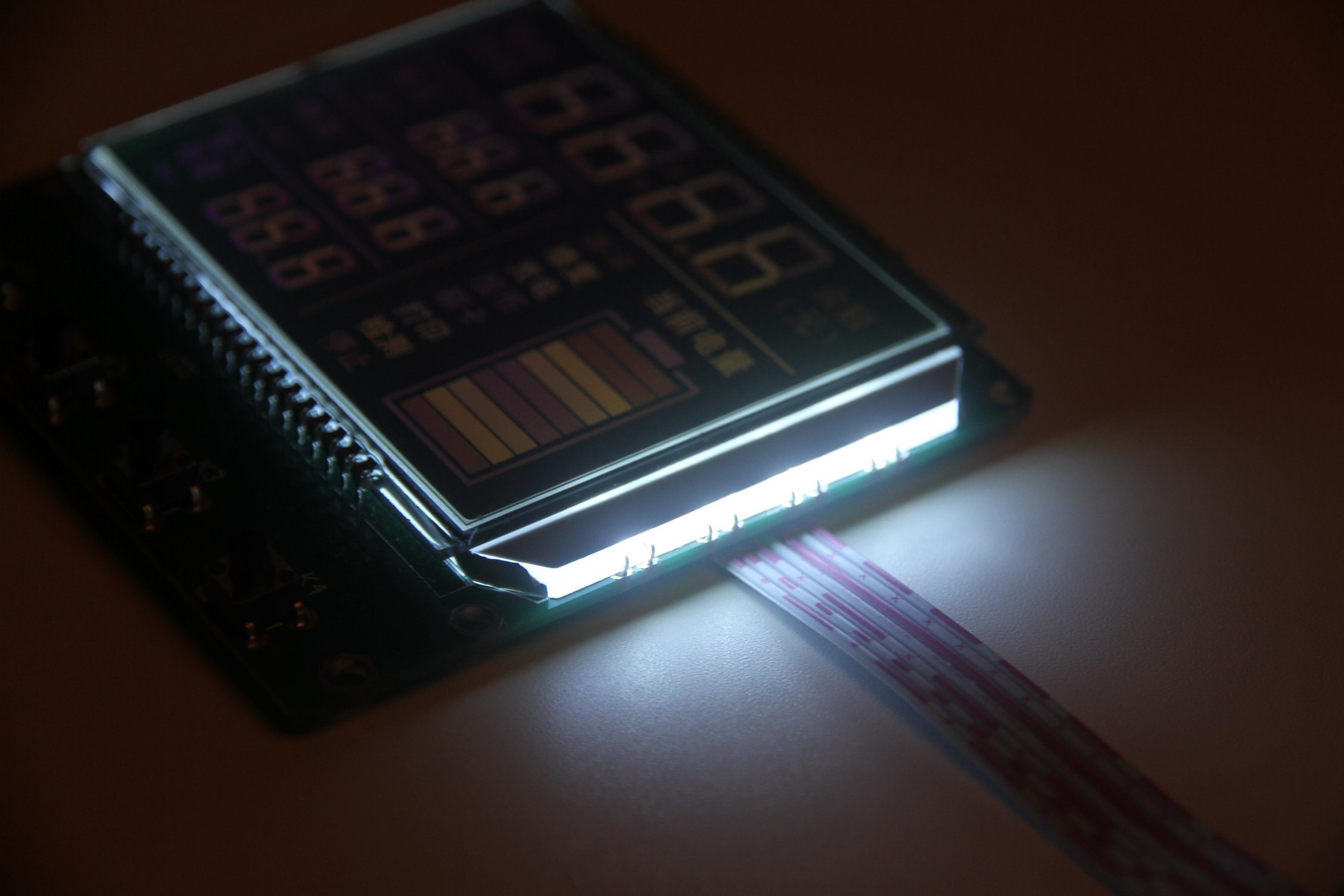 COB/Cog Monochrome LCD Screen