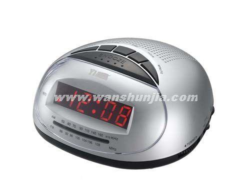 china 0 6 led display radio alarm clock cr 316 china. Black Bedroom Furniture Sets. Home Design Ideas